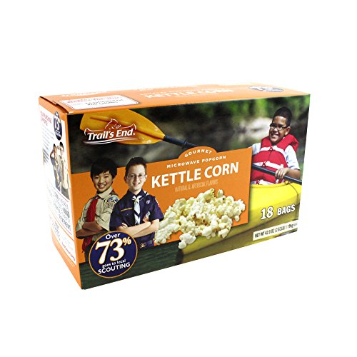 Kettle Corn Microwave Popcorn - Support Scouting