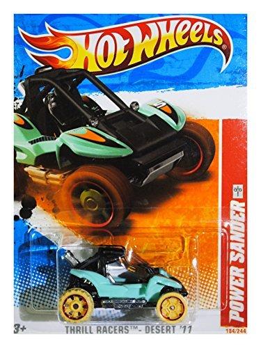Hot Wheels Thrill Racers Desert '11 2011 4/6 Power Sander 184/244