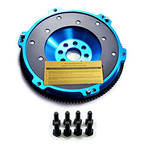 Billet Aluminum Flywheel - EFT T6 BILLET ALUMINUM LIGHT CLUTCH RACE FLYWHEEL 92-98 BMW 325 328 E36 M50 M52