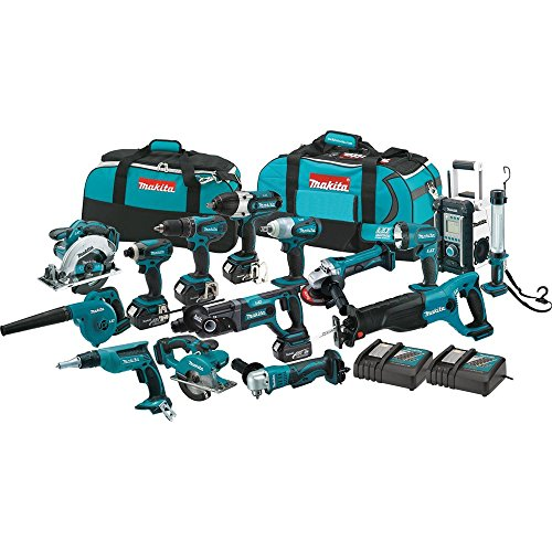 Makita XT1500 18V LXT Cordless Combo Kit (15 Piece)