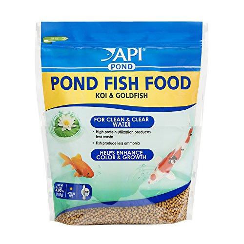 - API POND FISH FOOD Pond Fish Food 2.68-Pound Bag