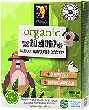 Byron Bay Cookies Organic Wildlife Banana Biscuits, 100 g