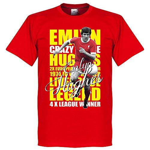 Emlyn Hughes Legend T-Shirt - rot