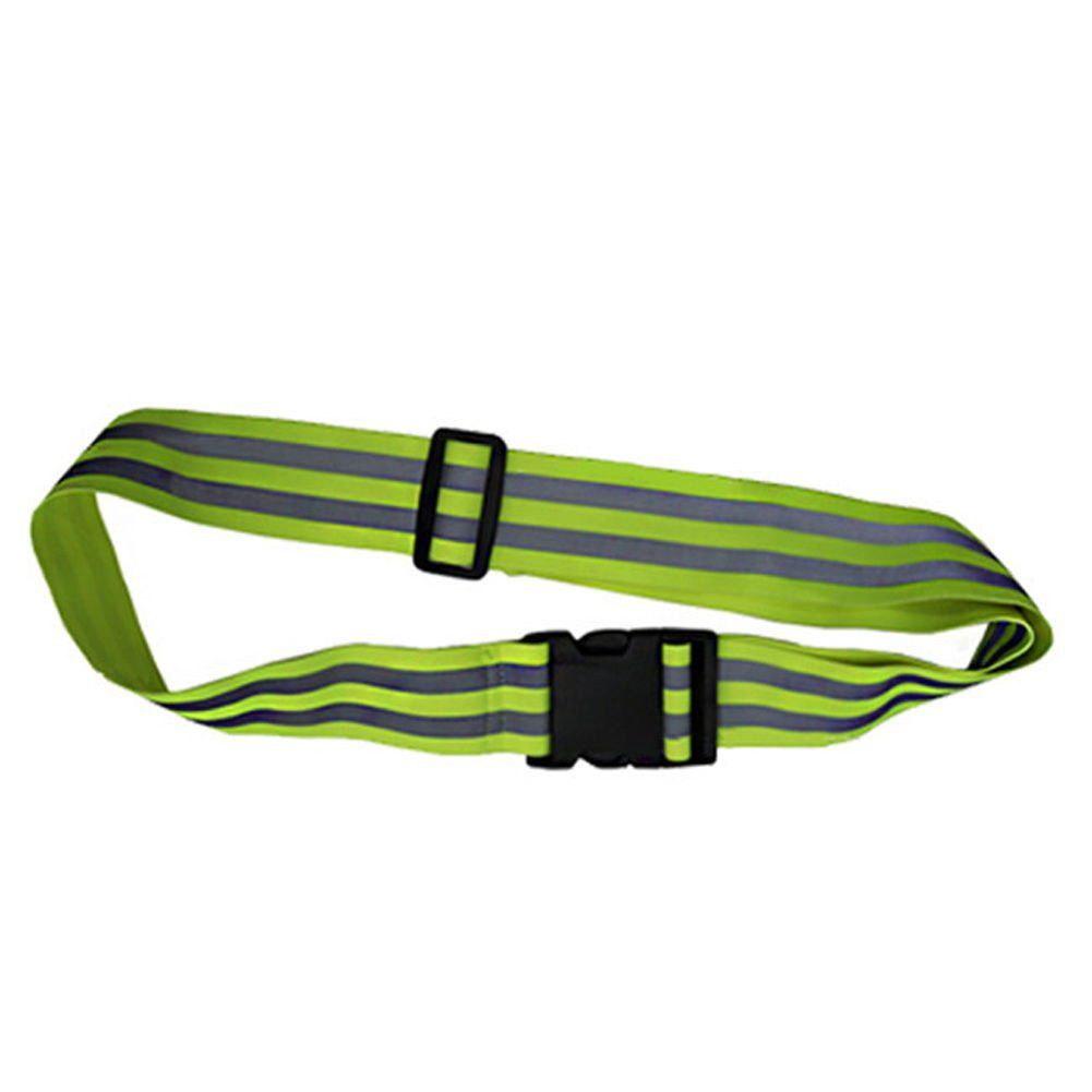 Reflective Running Belts Sash Band Elastic Biking Safety Outdoor Jogging Walking