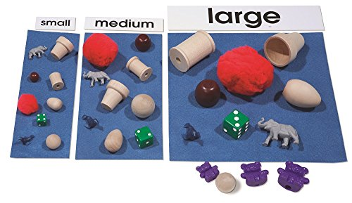 Primary Concepts Size Sorting Learning Kit
