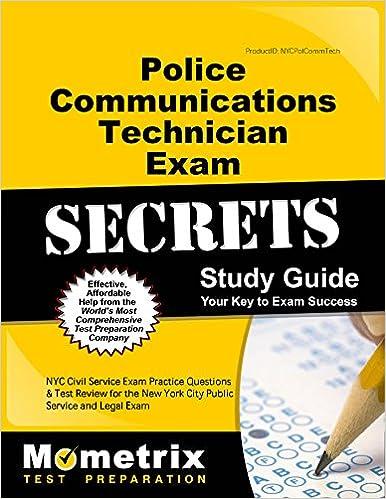 Police Communications Technician Exam Secrets Study Guide