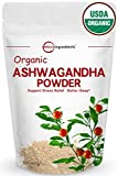 Pure Organic Ashwagandha Root Powder, 8 Ounce, Adaptogenic Ayurvedic Herbal Supplements to Promote Vitality & Strength, Powerfully Supports for Stress-Free Living, Non-GMO and Vegan Friendly. Review