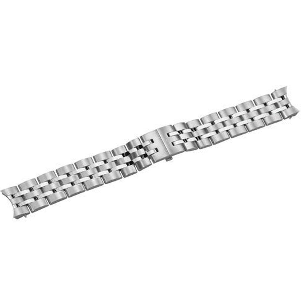 Swiss Army Alliance Silver Tone Stainless Steel 21mm Watch Bracelet