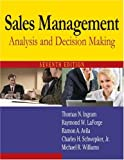 img - for Sales Management: Analysis and Decision Making by Thomas N Ingram (2008-12-15) book / textbook / text book