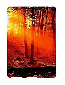 Christmas Gift - Tpu Case Cover For Ipad 2/3/4 Strong Protect Case - Sunlit Forest Design