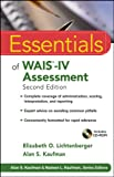 img - for Essentials of WAIS-IV Assessment (Essentials of Psychological Assessment) book / textbook / text book