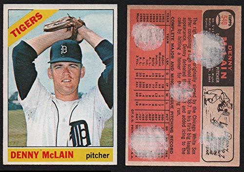 Denny Detroit Tigers Mclain (1966 Topps Regular (Baseball) card#540 Denny McLain of the Detroit Tigers Grade Very Good)