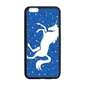 the Case Shop- Cute Unicorn Animals TPU Rubber Hard Back Case Silicone Cover Skin for iPhone 6 Plus 5.5 Inch , i6pxq-724