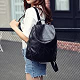 DDLBiz Fashion Women Leather Backpacks Waterproof Ladies Cute Backpacks Girls Kids