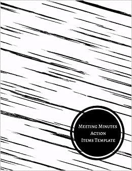 minutes action items template