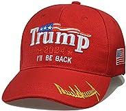 Rmcxly Donald Trump 2024 Cap MAGA USA Baseball Caps I'll BE Back