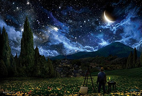 Starry Night Poster 36 x 24in