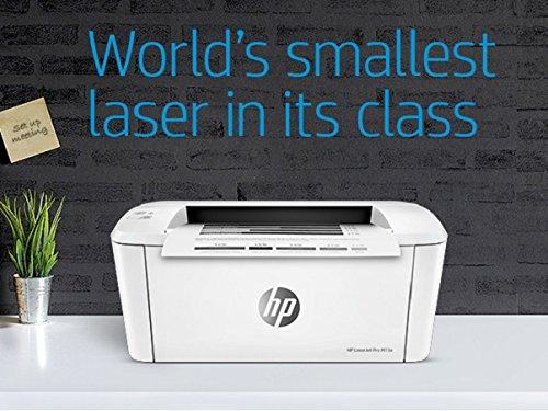 White HP LaserJet Pro M28a Multi-Function Printer