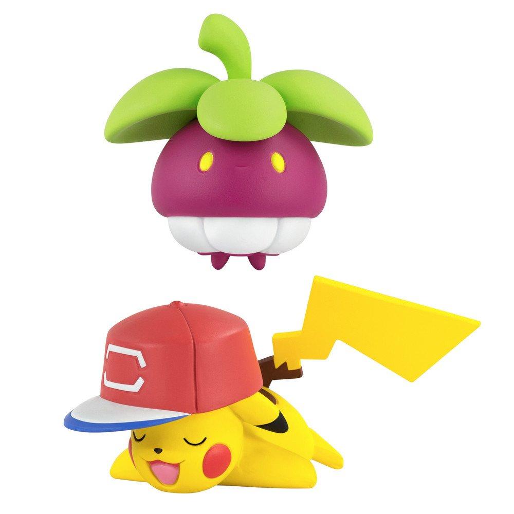Pokèmon T19033 - Figura de Ash s Pikachu vs Bounsweet POKEMON