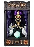 Halloween Animated Skeleton Fortune Teller