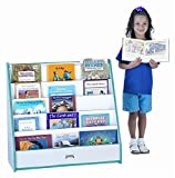 Rainbow Accents 3514JCWW004 Flush back Pick-A-Book Stand, Purple