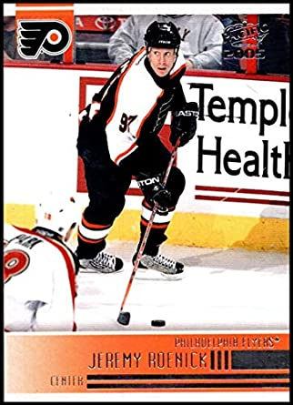 2004-05 Pacific  198 Jeremy Roenick Philadelphia Flyers Official NHL Hockey  Trading Card 00e9b6551
