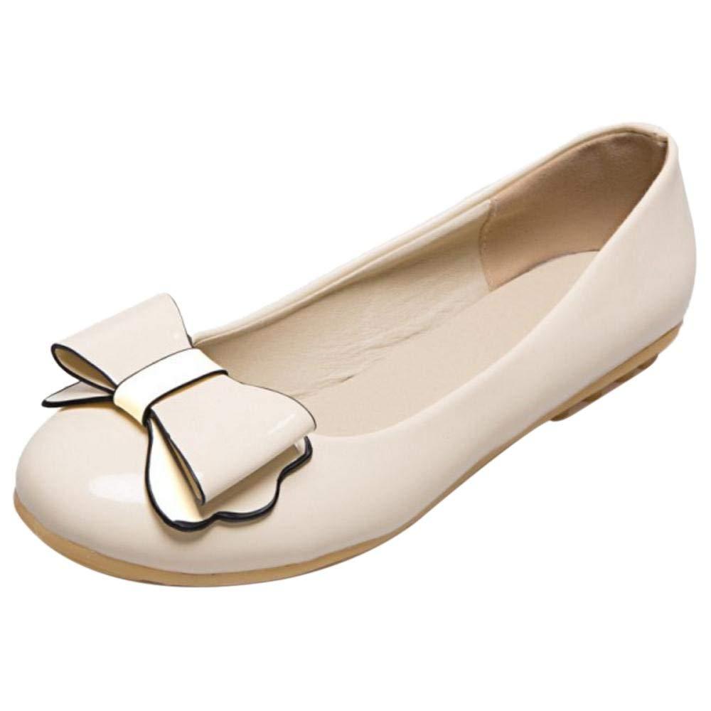 Unm Womens Cute Slip On Flat Shoes