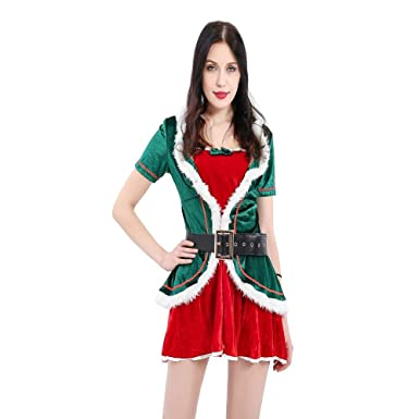 Amazon.com: Honey Box - Disfraz de elfo de Navidad con ...