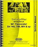 Caterpillar 941B Traxcavator Service Manual