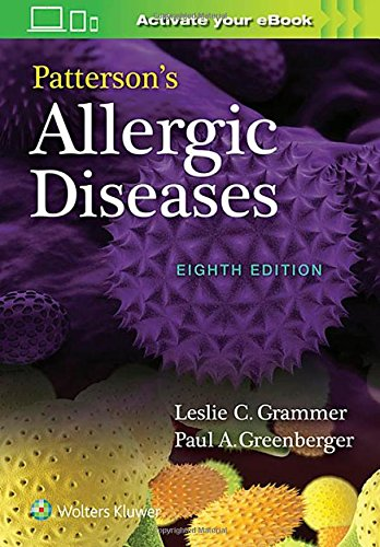 [BOOK] Patterson's Allergic Diseases [T.X.T]