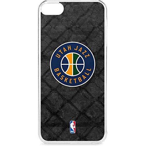 Skinit NBA Utah Jazz iPod Touch 6th Gen LeNu Case - Utah Jazz Black Rust Design - Premium Vinyl Decal Phone Cover by Skinit