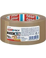 tesa Pak Extreme, premium pakketband, bijzonder klevend en scheurvast, ideaal voor het verpakken en bundelen van zware pakketten en voorwerpen