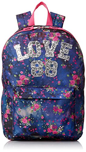 Accessories 22 Girl's Fashion Backpack Love 88, Multi, One Size by Accessories 22