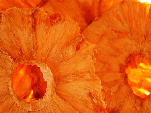 Ananas Ringe Trockenfrüchte zum Naschen, SPARPACK, 1kg, Intensiv & Lecker, Viamin C, ungeschwefelt, ungezuckert, in Müsli, Quark