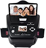 DIGITNOW Photo scanner 35mm /135slides&Negatives Film Scanner Photo, Name Card, Slides and Negatives to Digital Converter for Saving Films to Digital Files in 4GB SD card(Included) with Photo Editing
