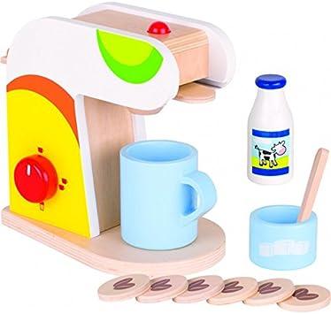 Goki 51585 Cafetera de Juguete: Amazon.es: Juguetes y juegos