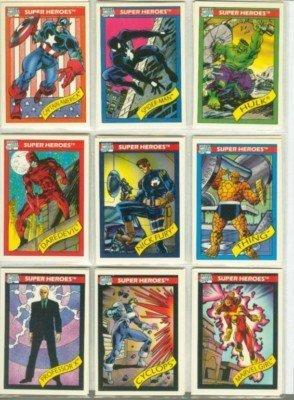 Marvel Universe Series 1:Complete Mint Card Set ()