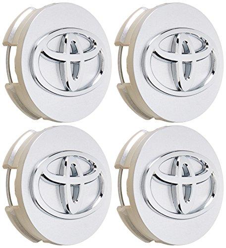 4pcs. WHEEL CENTER CAPS Camry Sienna Venza Avalon Corola Prius V & S Wagon 42603-12730 (Plastic Wheel Cap Center)
