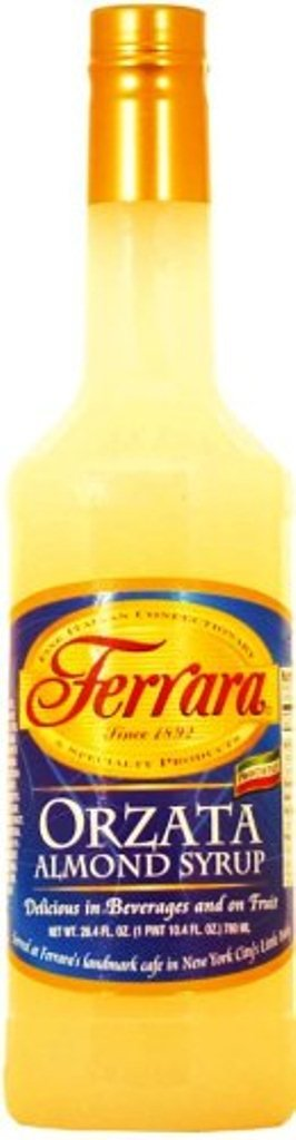 Ferrara Orzata Syrup, Almond, 26.4 Ounce (Pack of 12)