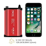Foval 300W Power Inverter DC 12V to 110V AC Converter with 4.8A Dual USB Car Charger