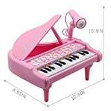 Amy&Benton Toddler Piano Toy Keyboard Pink for