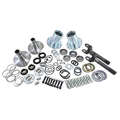 Yukon (YA WU-08) Spin Free Locking Hub Conversion Kit for Jeep TJ/XJ/YJ Dana 30 Differential from Yukon Gear