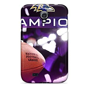 Best Hard Cell-phone Cases For Samsung Galaxy S4 With Support Your Personal Customized Lifelike Baltimore Ravens Series AaronBlanchette