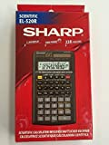 Sharp EL-520R Scientific Calculator 2-Line LCD Twin Power 238 Functions Advanced D.A.L. Multi-Line Playback
