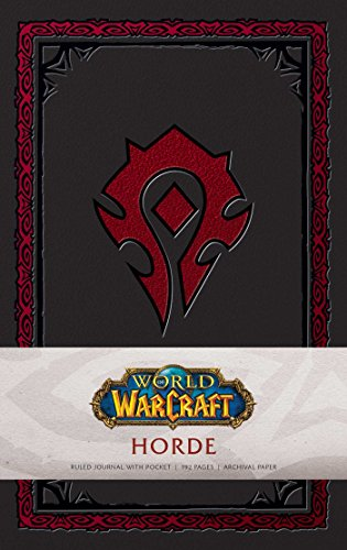 World of Warcraft: Horde Hardcover Ruled Journal (Gaming)