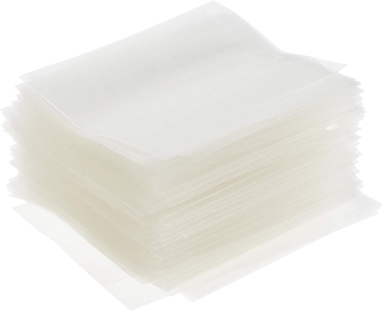 1000pcs Shrink Wrap Bags PVC Heat Wrap Film Essential Oil Bottle Shrink Film