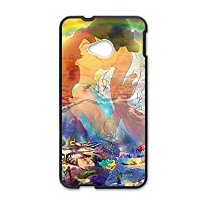 Prince And Mermaid lOve Story Black HTC M7 case