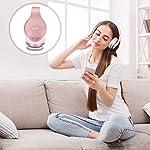 Zihnic-Wireless-Stereo-Pieghevole-Cuffie-Bluetooth-Auricolare-con-Microfono-Integrato-Mini-sdtf-for-iPhonesamsonipadpc-fm-comodi-paraorecchie-per-indossare-a-lungo-Oro-Rosa
