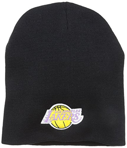 NBA Los Angeles Lakers '47 Beanie Knit Hat, Black, One (Team Knit Cap)