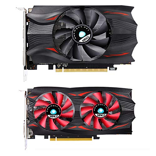 Game Graphics Card – Computer Video Graphics Card, High-Performance Office Graphics Card, (RX 550 4G GDDR5 DVI-D DP HDMI…